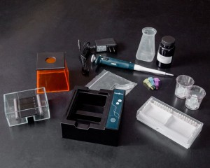 The MiniOne Electrophoresis System