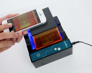 The MiniOne Electrophoresis Gel Box and Photo Hood