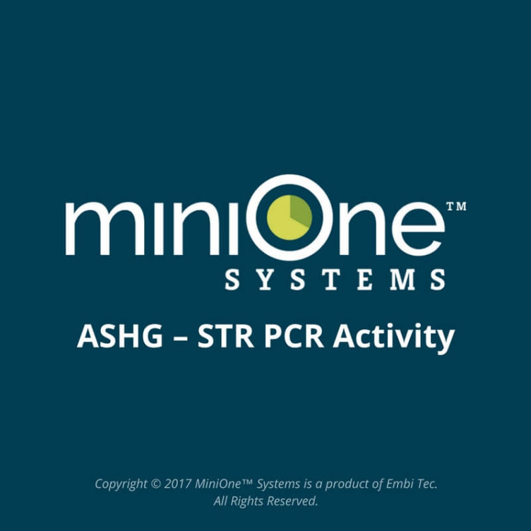 ASHG – STR PCR Activity