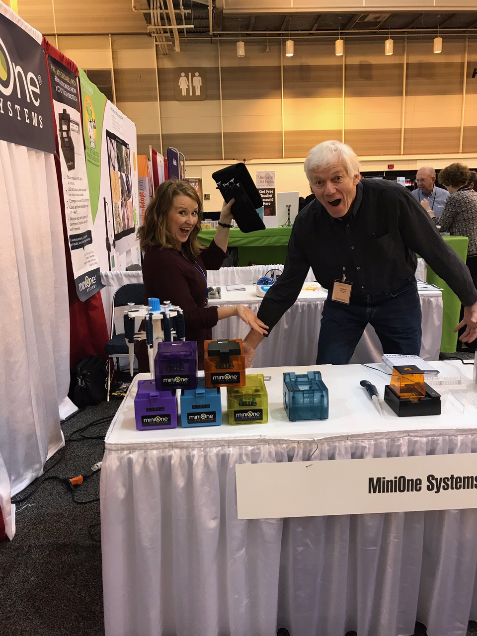 Colorful PCR Systems Debut at NSTA New Orleans