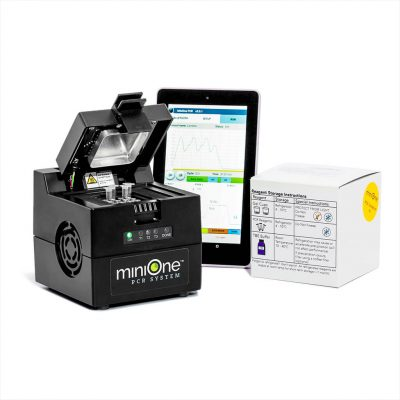 M4001 MiniOne PCR System with Android Mobile Control Tablet