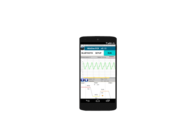 PCR Mobile App for Android Phone