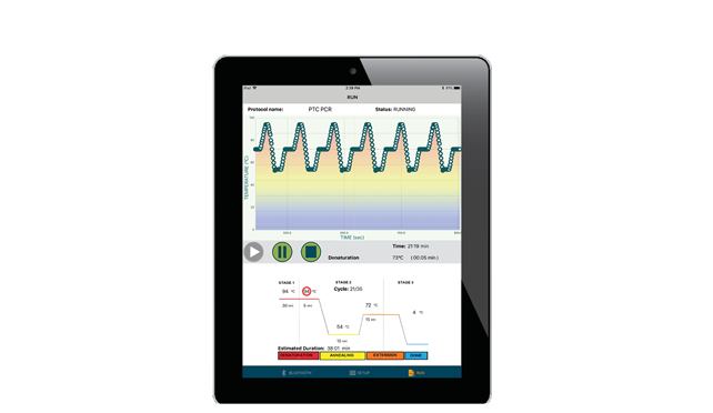 PCR Mobile App for iPad