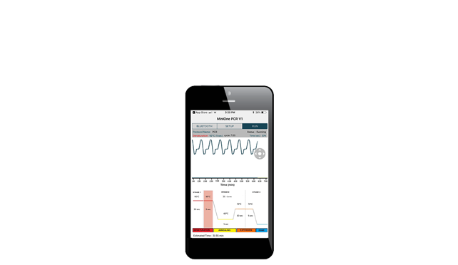 PCR Mobile App for iPhone