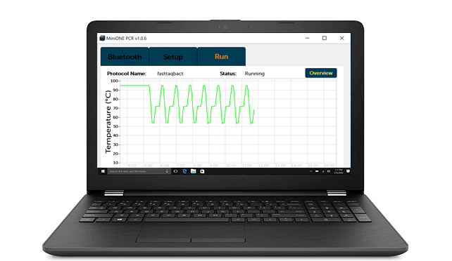 PCR Mobile App for Windows Notebook